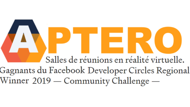 Aptero : gagnant du Facebook Developer Circles Regional Winner 2019